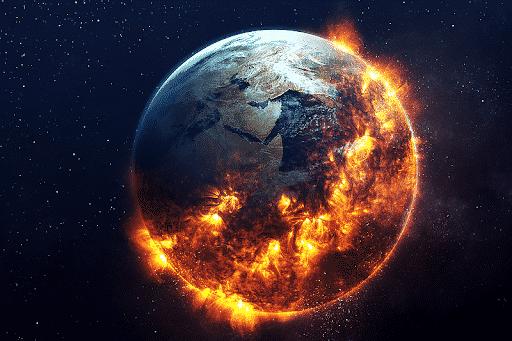 4. Meningkatnya Suhu Global