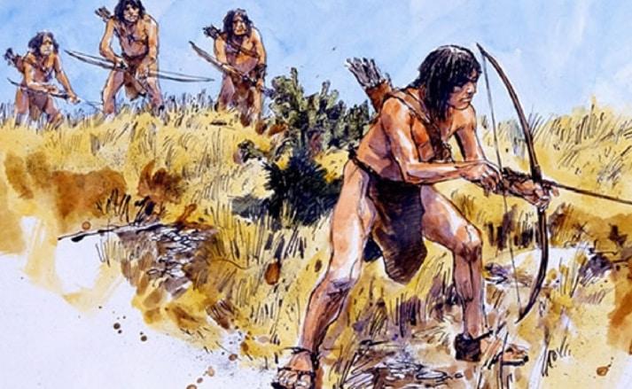Kehidupan Manusia Purba pada Masa Berburu dan Mengumpulkan Makanan