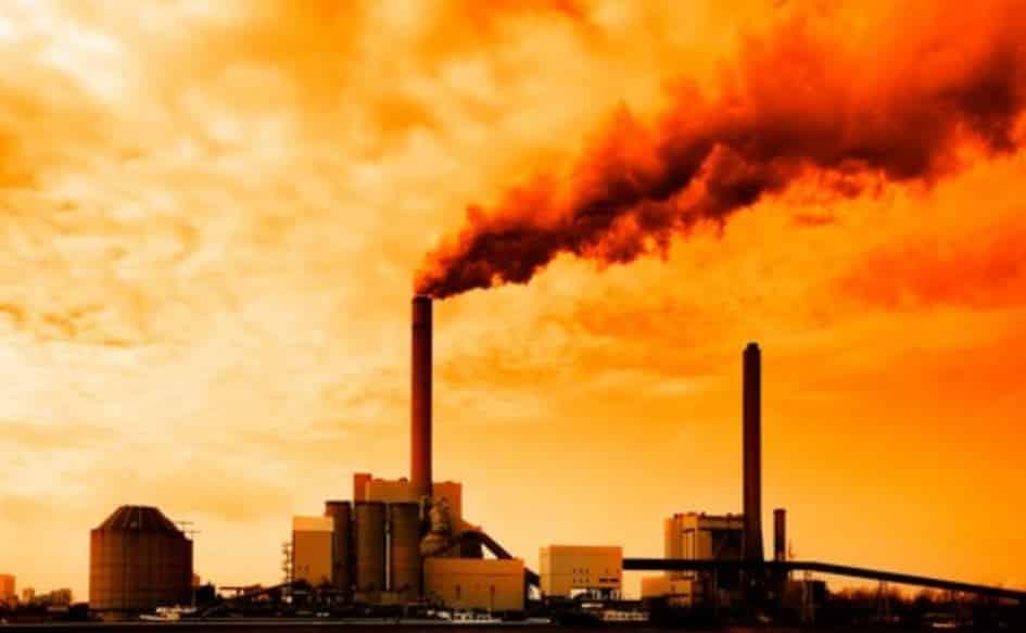 Limbah industri gas