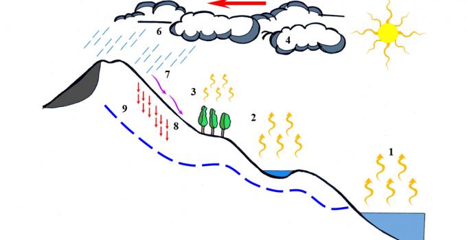 Siklus Hidrologi : Pengertian, Komponen, Macamnya (Lengkap) 1