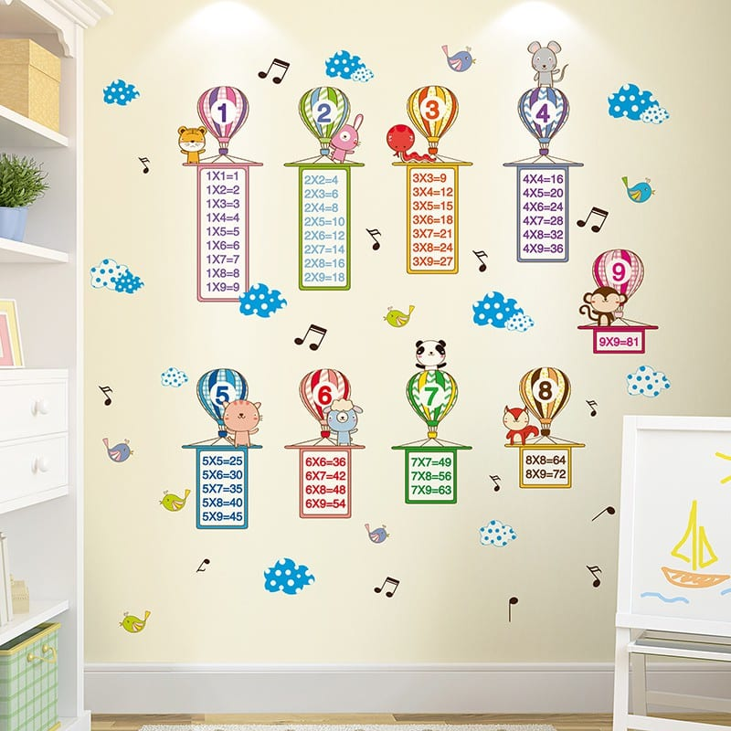 16.    Hiasan Dinding Wall Sticker