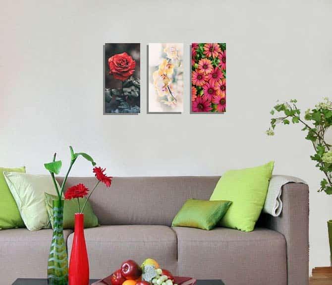 7. Hiasan Dinding Kamar Bunga Anggrek