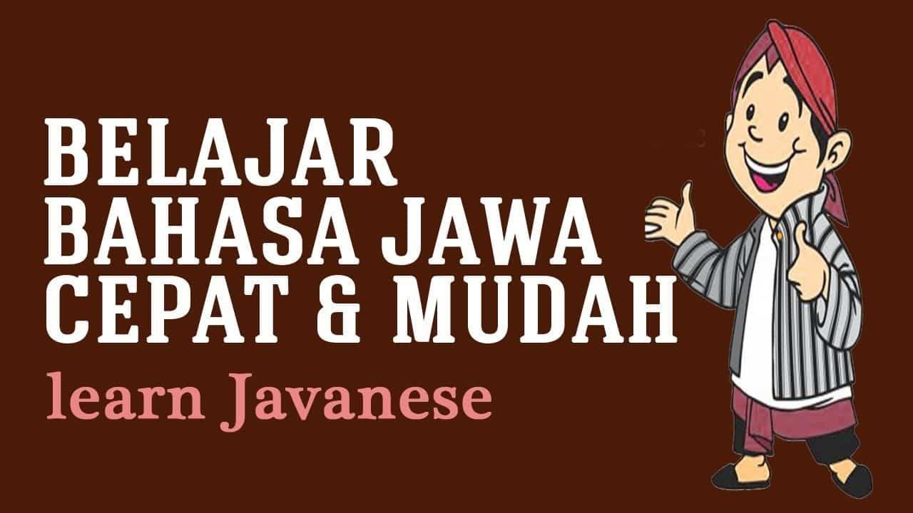 Bahasa Jawa Halus