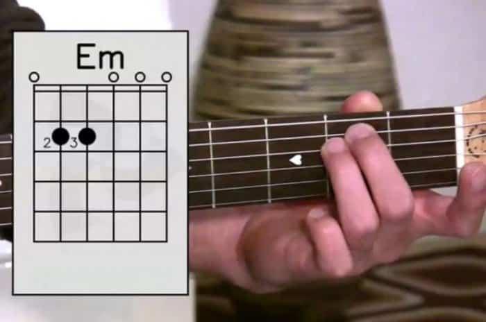 Chord Gitar Kunci Em