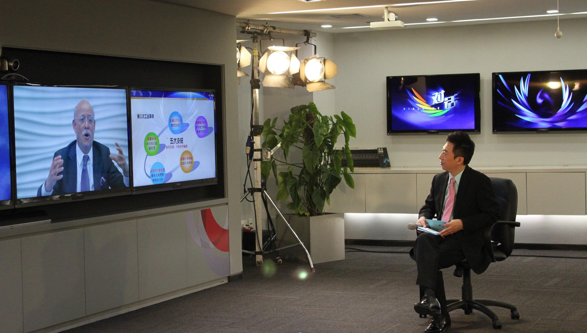 Contoh Dialog Interaktif Singkat di Televisi