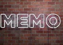 Kumpulan Contoh Memo