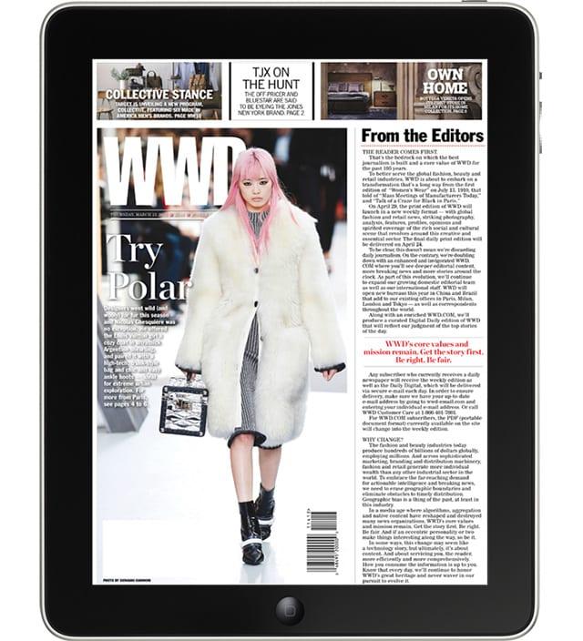 WWD: Womens Wear Daily