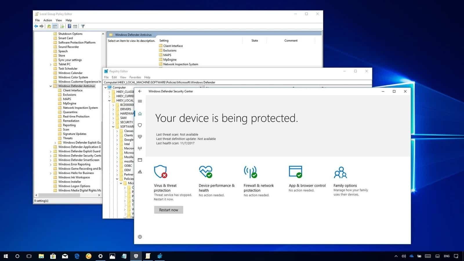 Cara Menggunakan Windows Defender