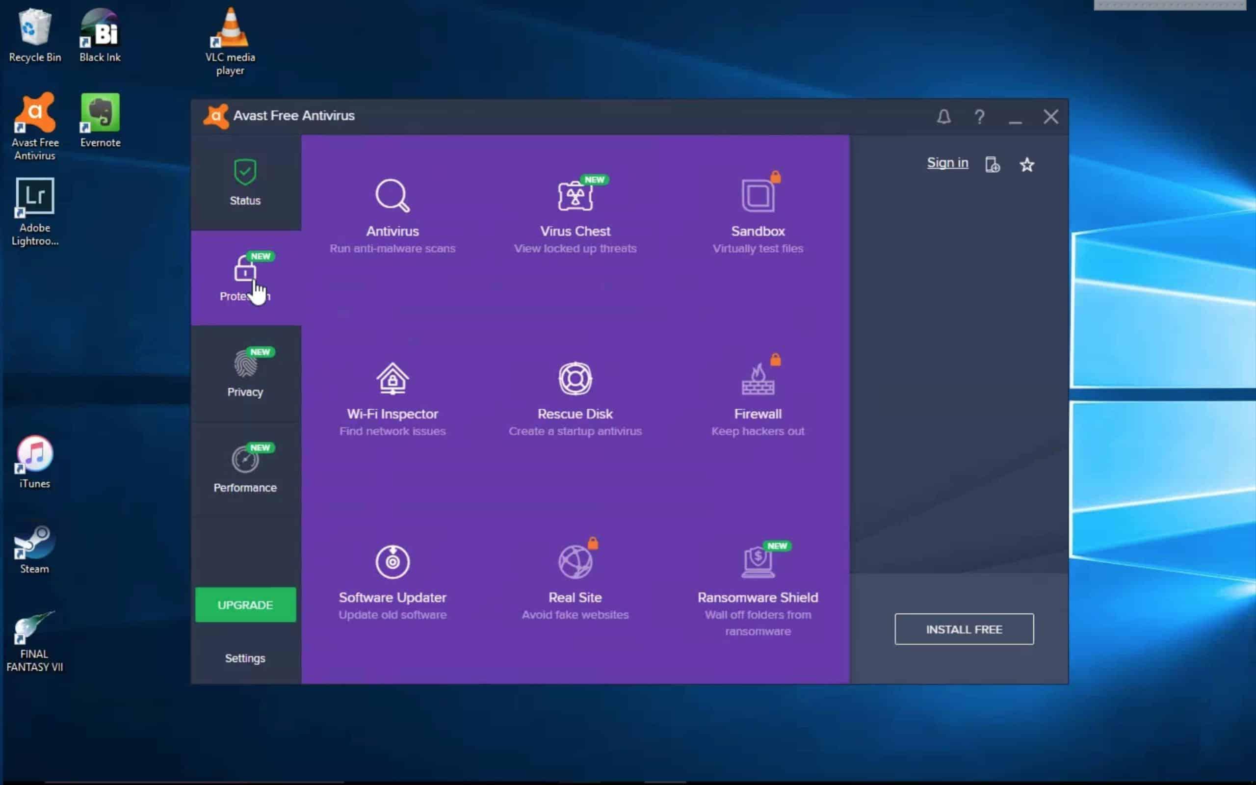 Jalankan pemindai Antivirus berdasarkan permintaan user terlebih dahulu sebelum dijalankan otomatis