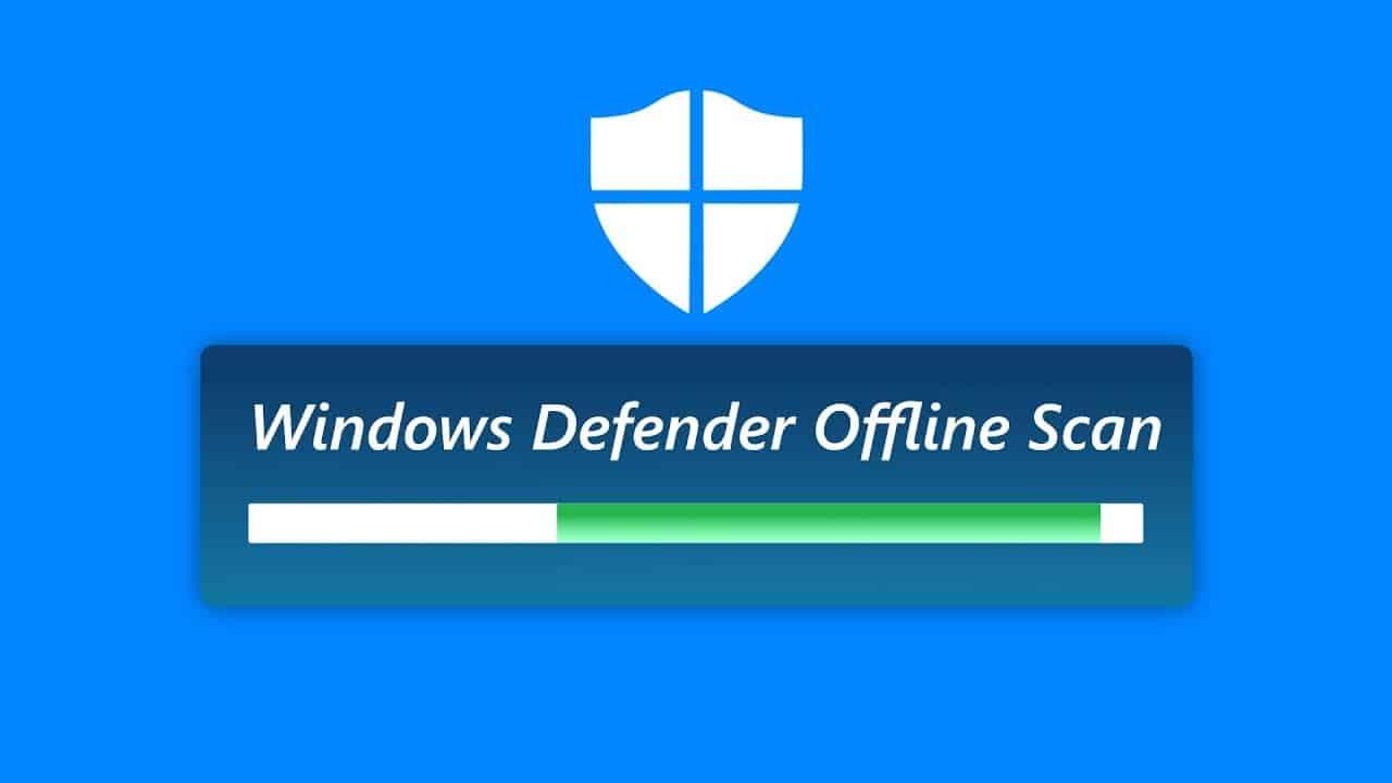 Menggunakan Windows Defender Offline