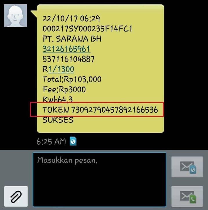 Tunggu konfirmasi SMS yang akan segera dikirimkan ke nomor Anda yang berisi notifikasi bahwa transaksi telah berhasil dilakukan