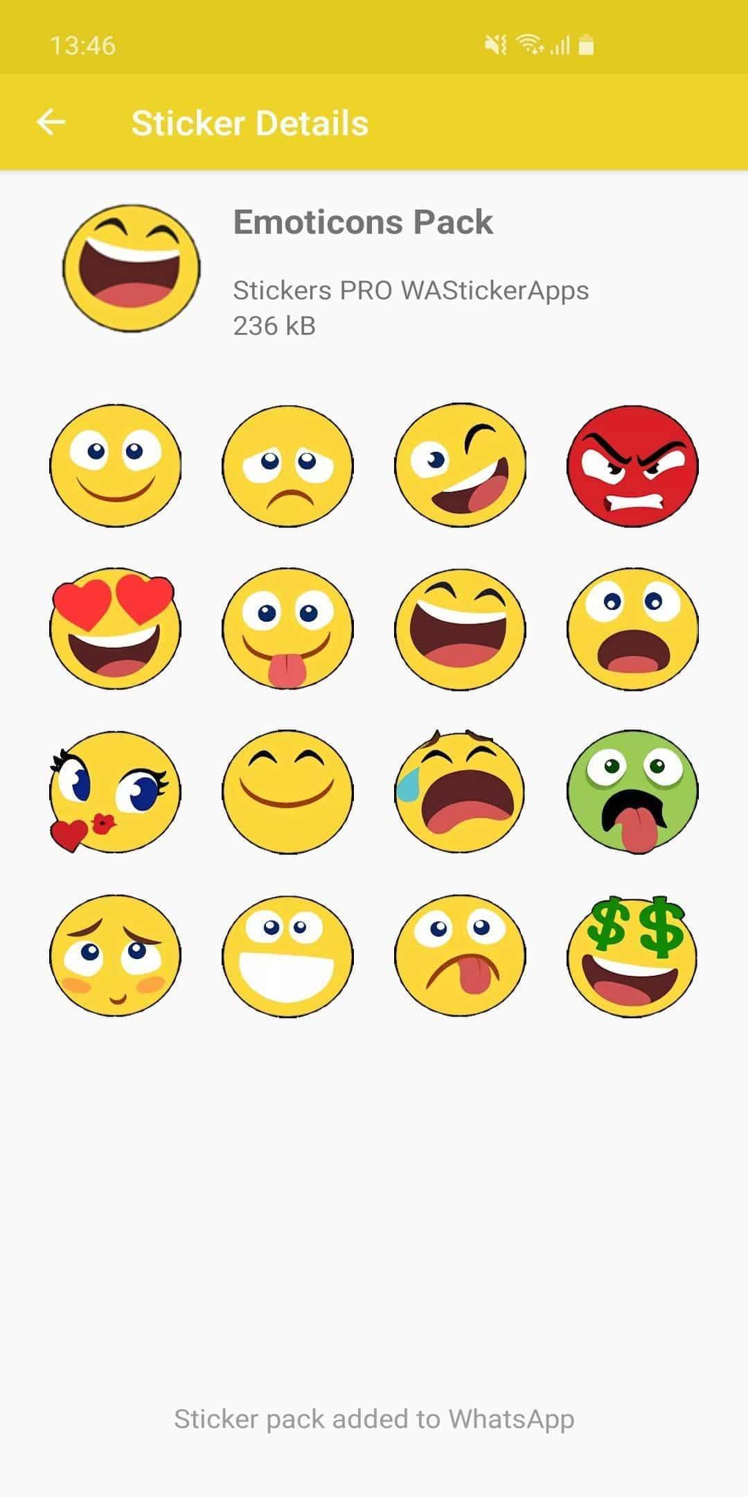 3D Emojis Stickers