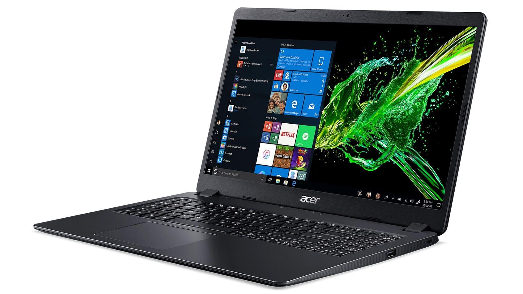 Acer A315-41-R736 dengan RAM 8 GB