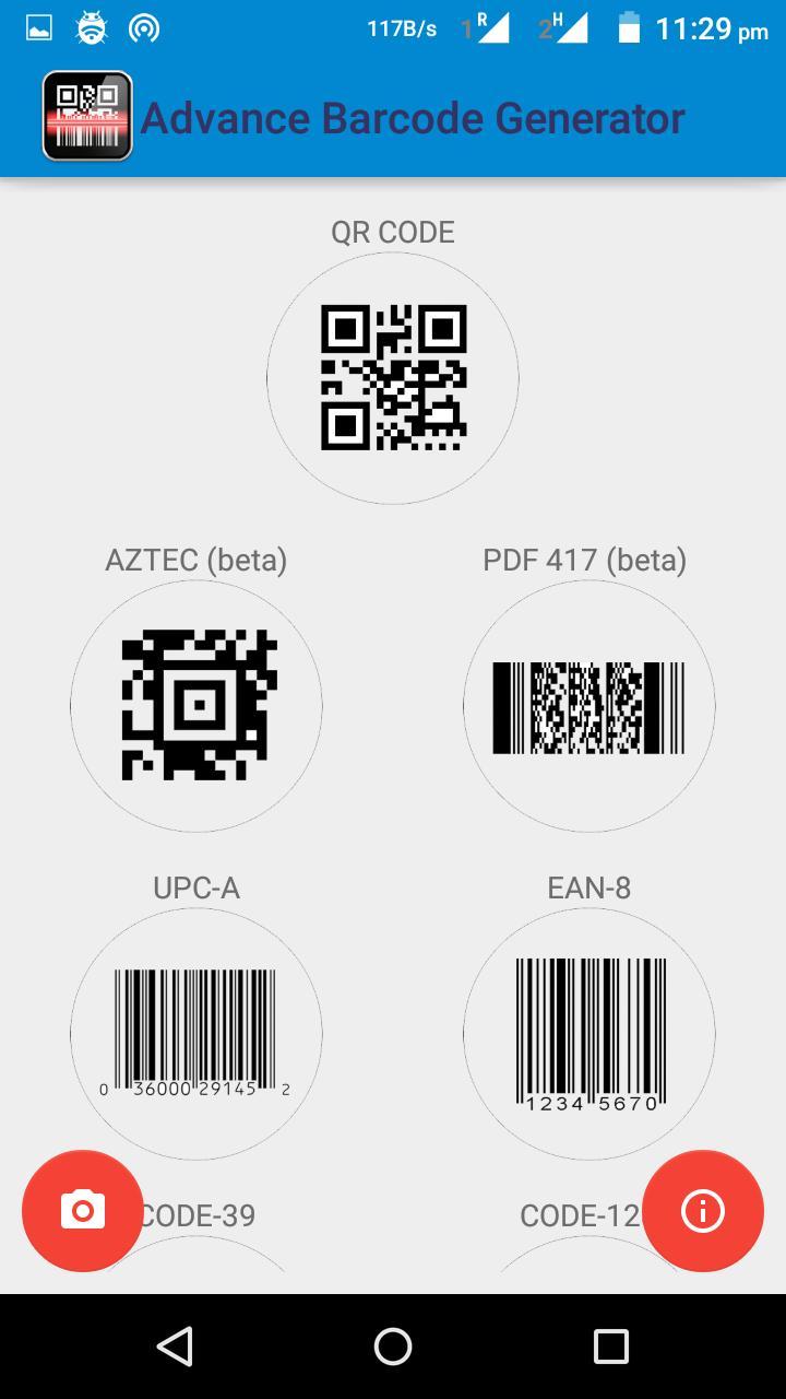 Advance Barcode Generator