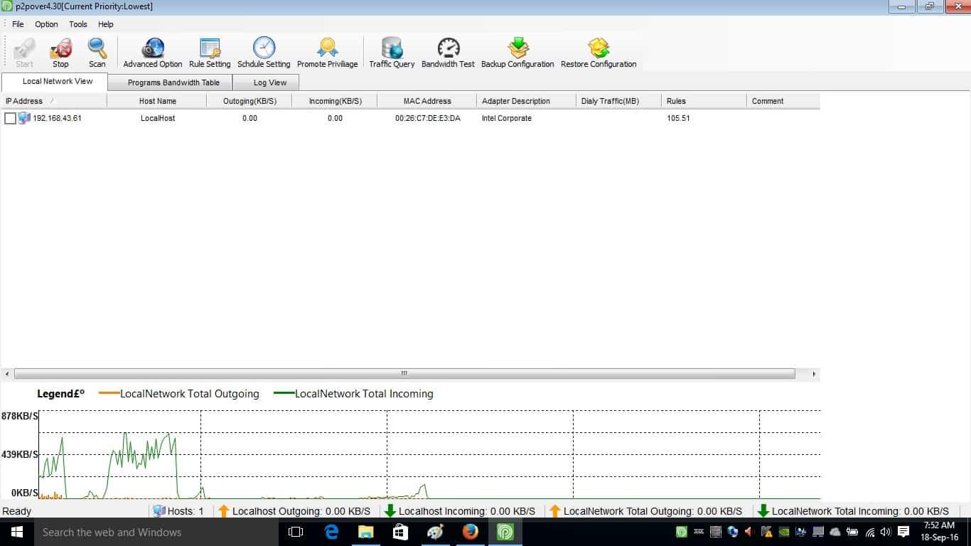 Buka aplikasi P2Pover pada PC maupun Android