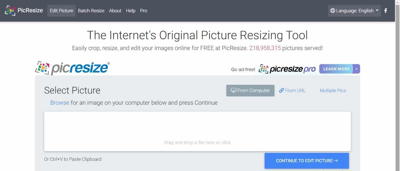 Buka browser dan kunjungi laman situs