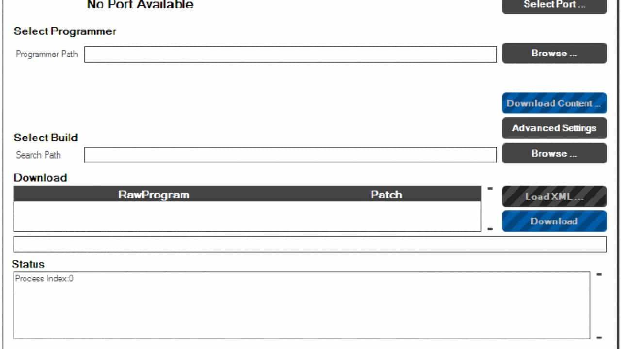 Download aplikasi Qfil yang sesuai dengan spesifikasi laptop, Anda bisa memilih 32 bit atau 64 bit.