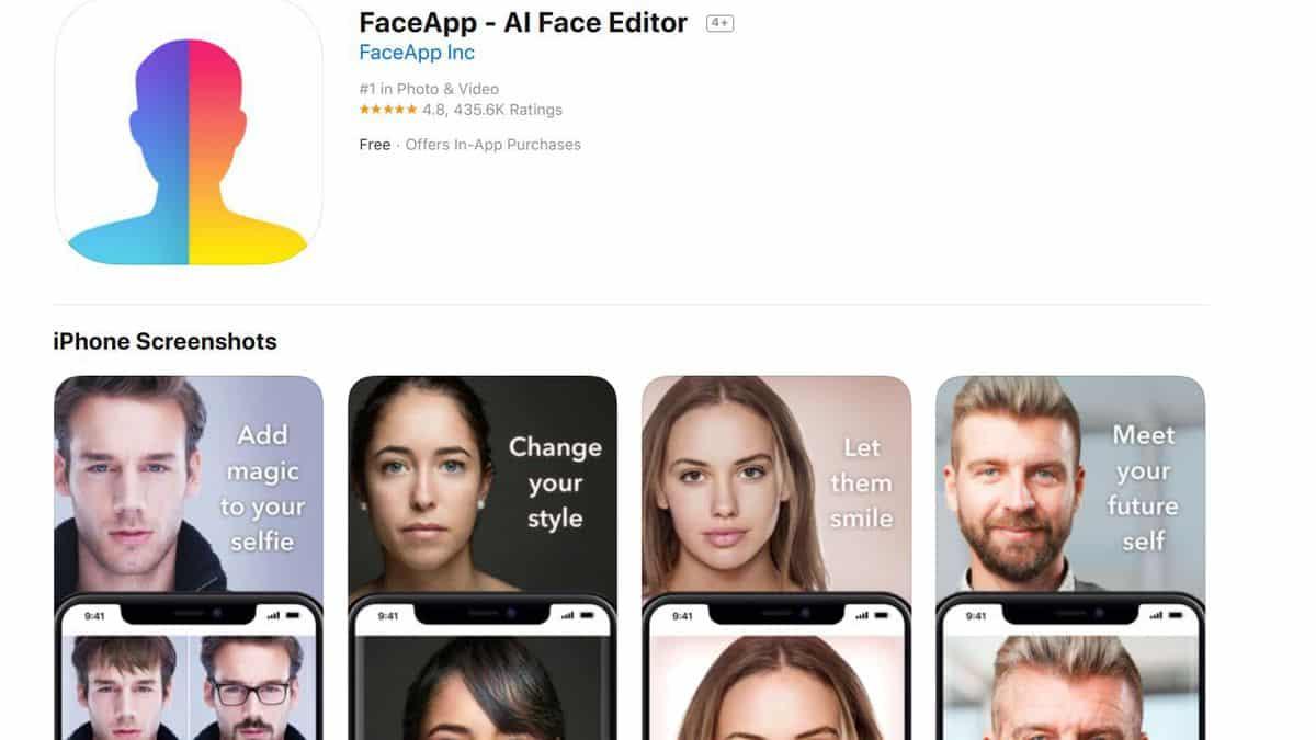 FaceApps-Al Face Editor