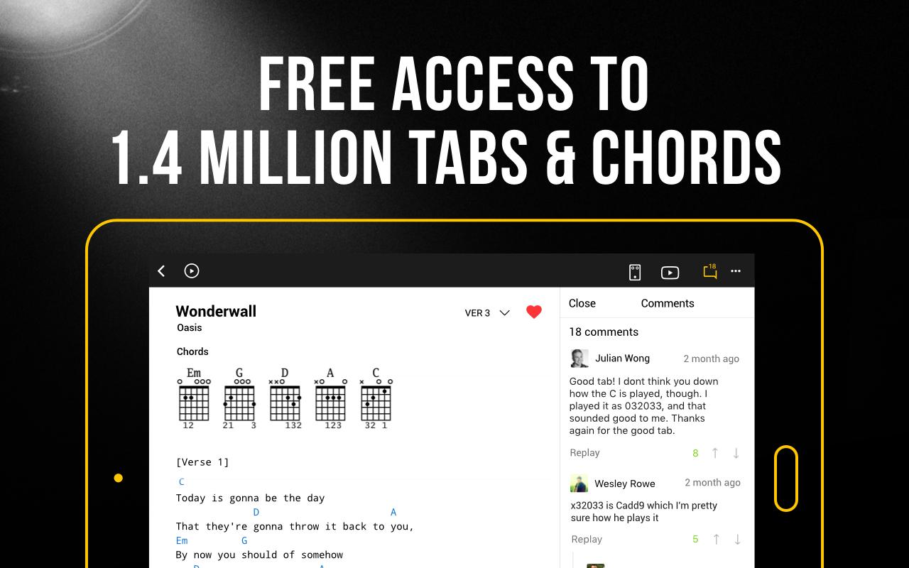 GuitarTab Tabs and Chords