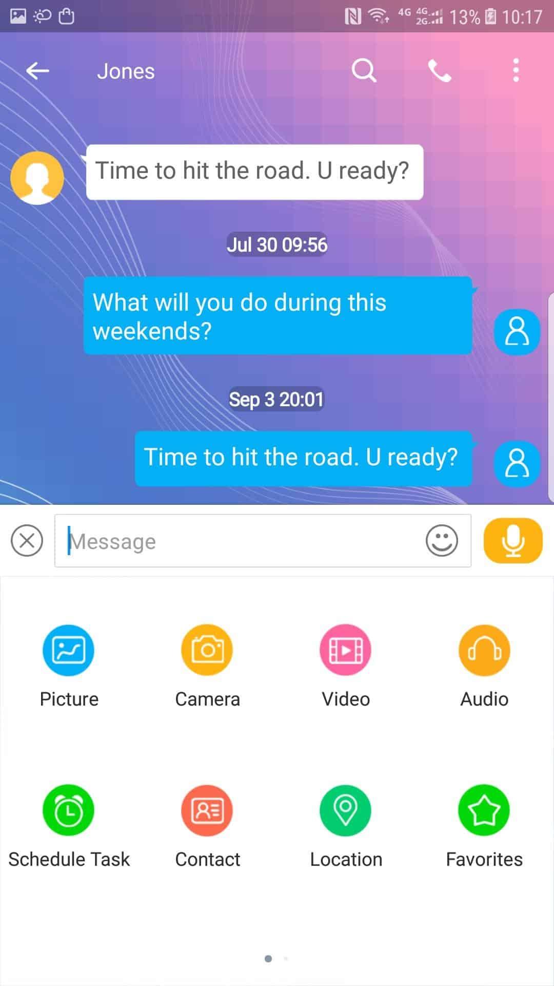 Handsent Next SMS