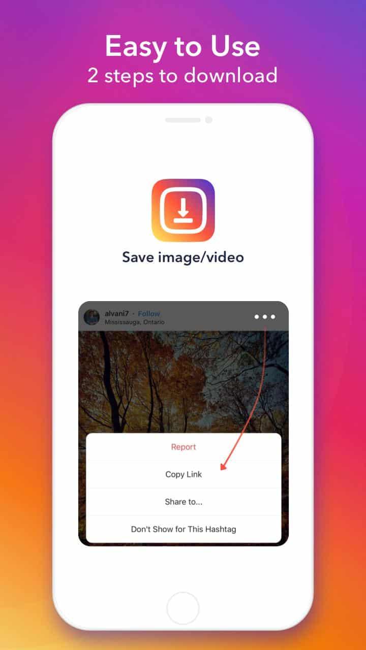 """Jika foto sudah ketemu, tekan titik tiga yang da di pojok atas foto dan tekan tulisan """"Copy Link"""