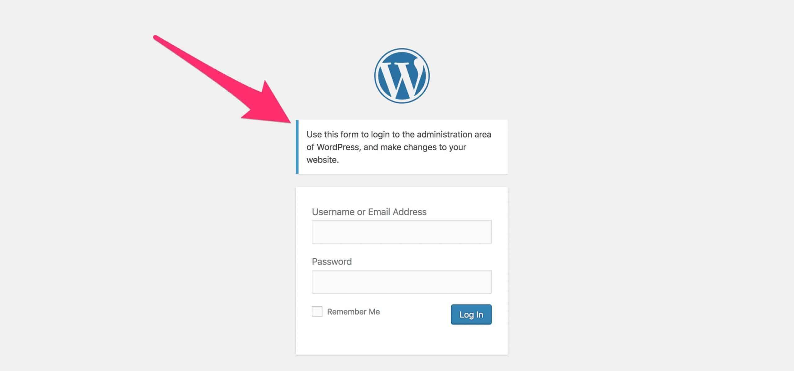 Klik ikon login agar bisa masuk ke akun