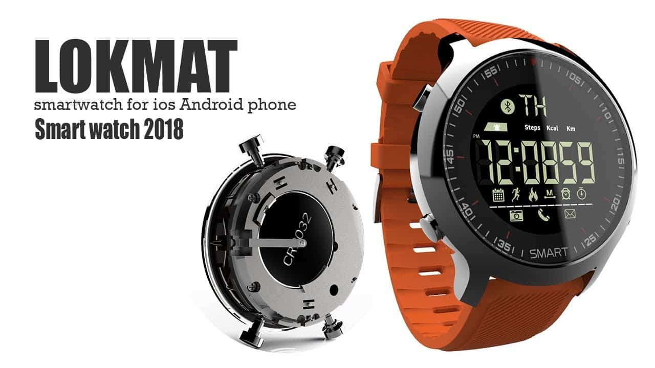 Lokmat Smartwatch MK18