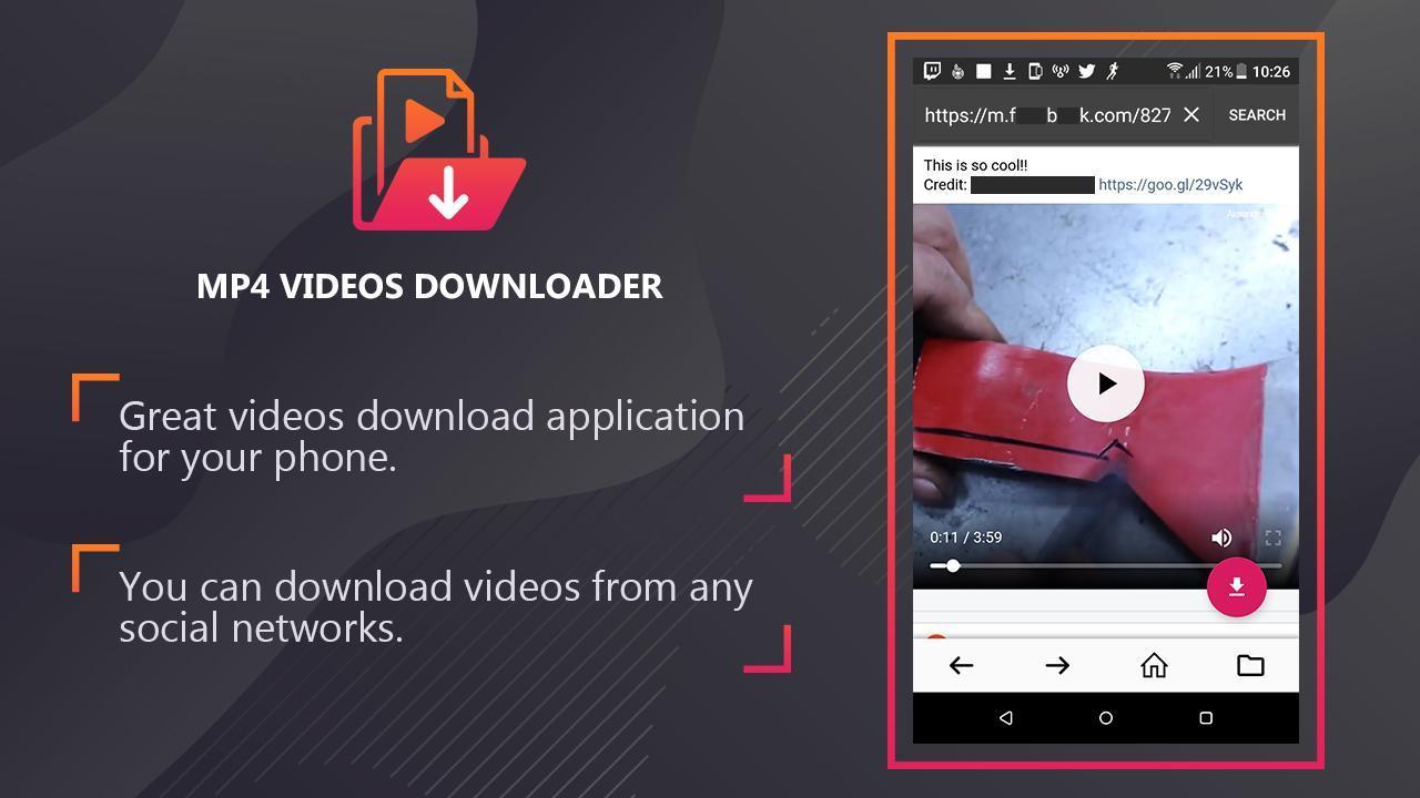 Menggunakan Aplikasi Video Downloader