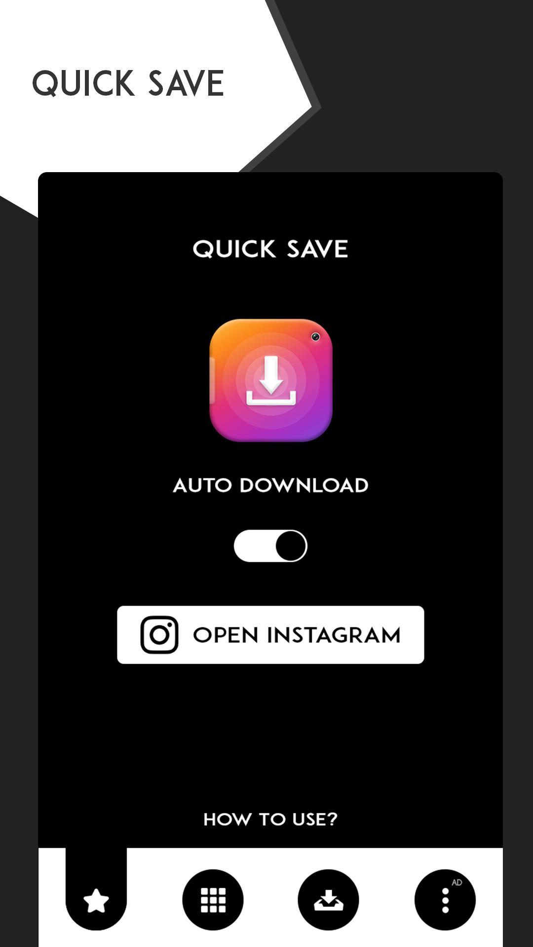Menggunakan QuickSave