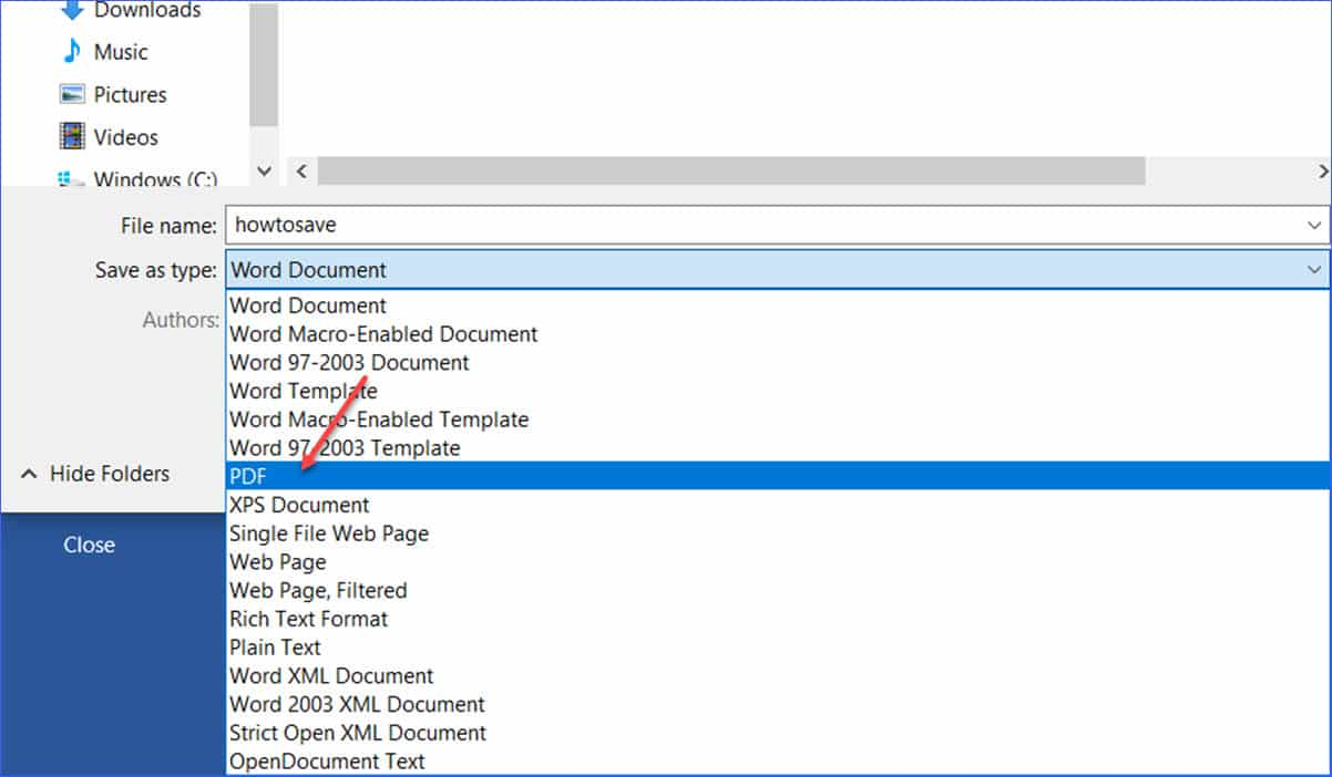 Menyatukan File PDF Via Word