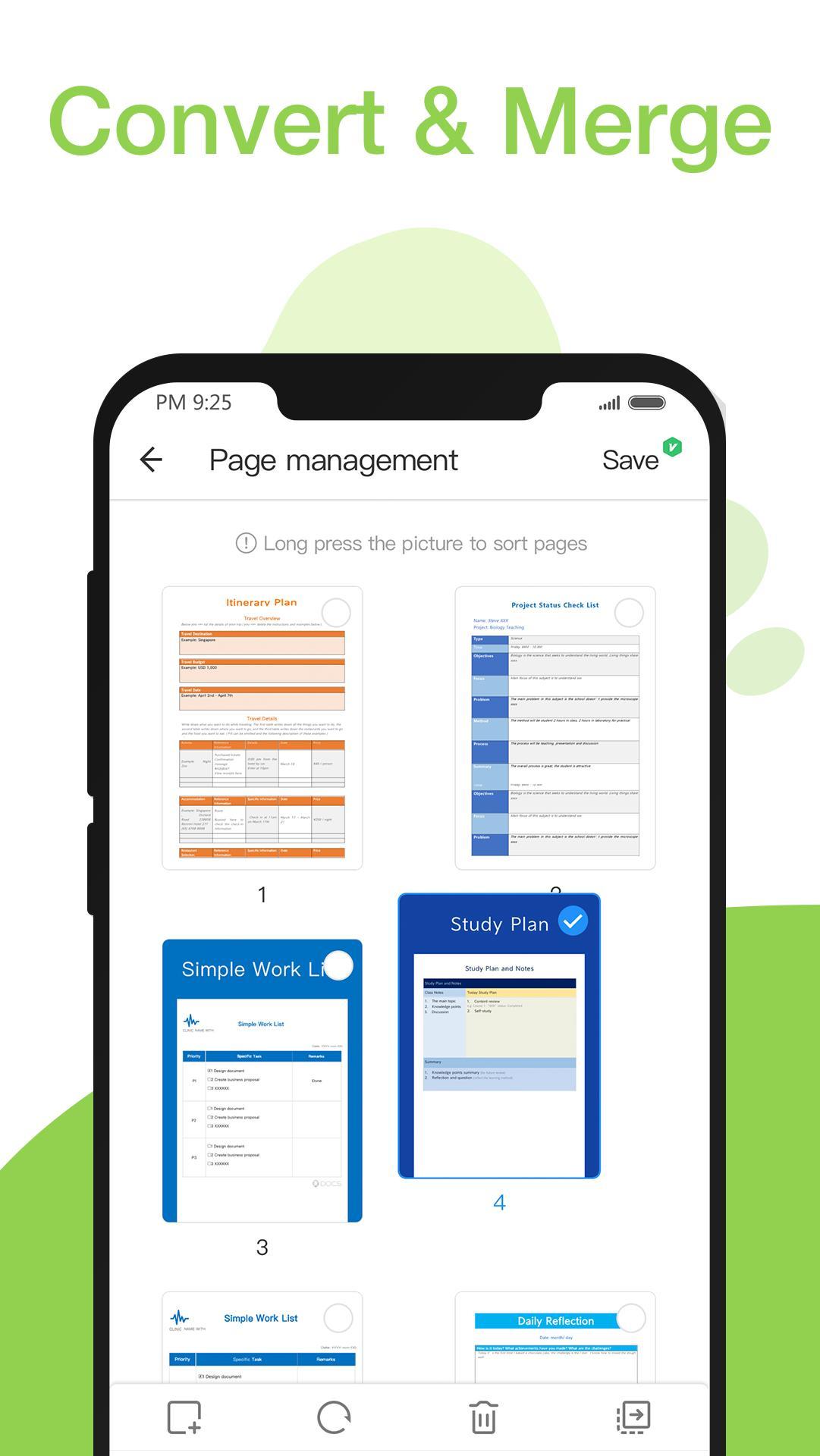 Menyatukan File PDF di Smartphone