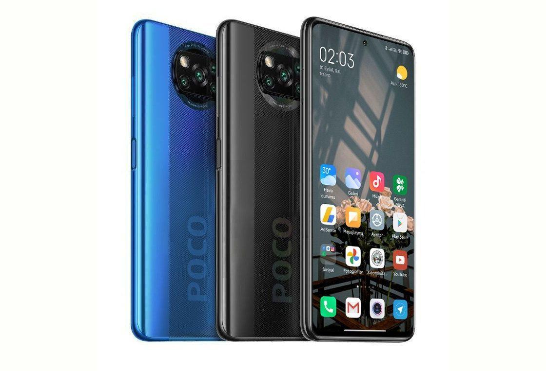 POCO X3 NFC RAM 8 GB