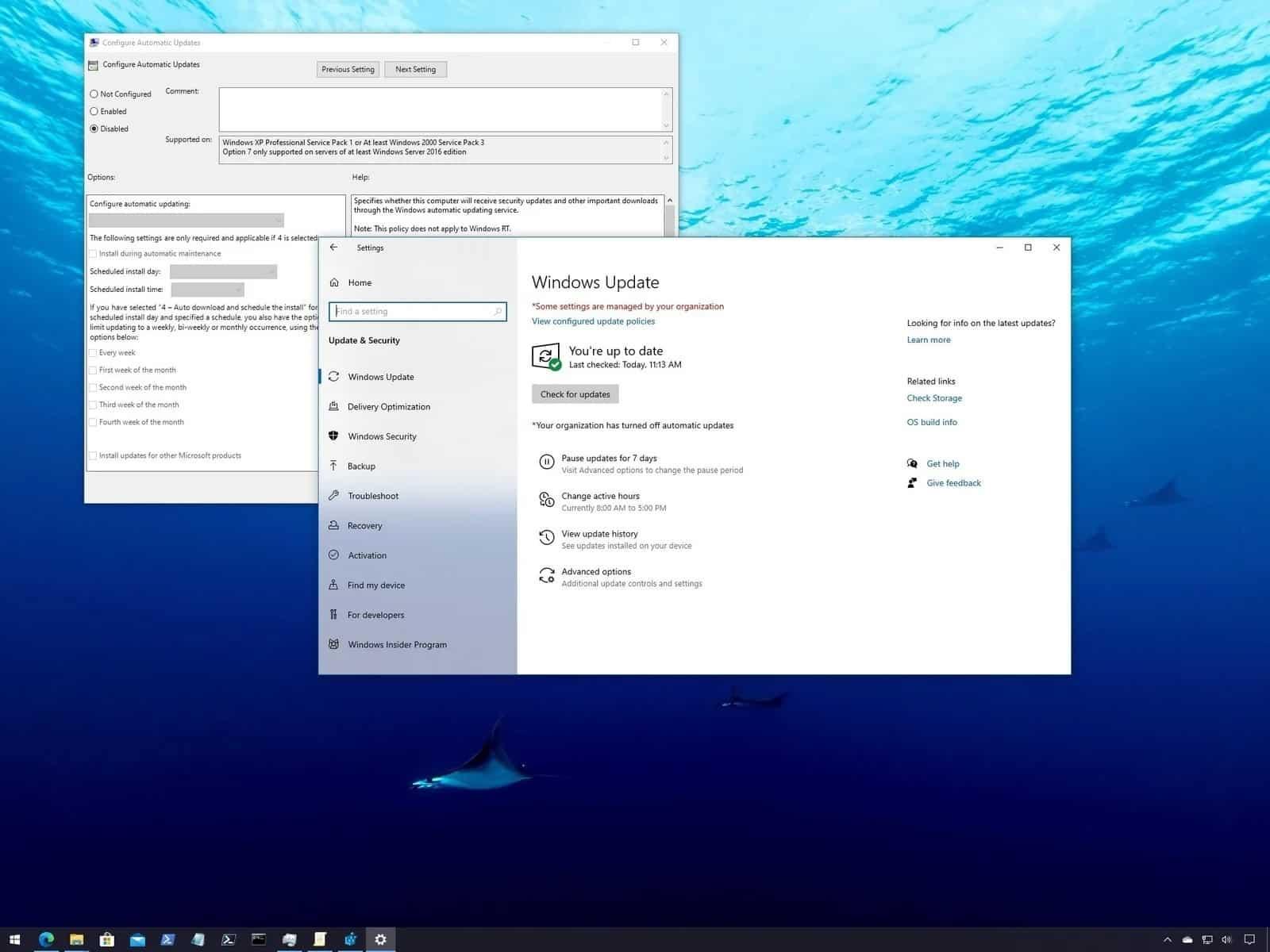Pada bagian ini, Anda akan melihat banyak tools dengan berbagai fungsi. Untuk mematikan proses update Windows 10, maka Anda harus memilih tools Service