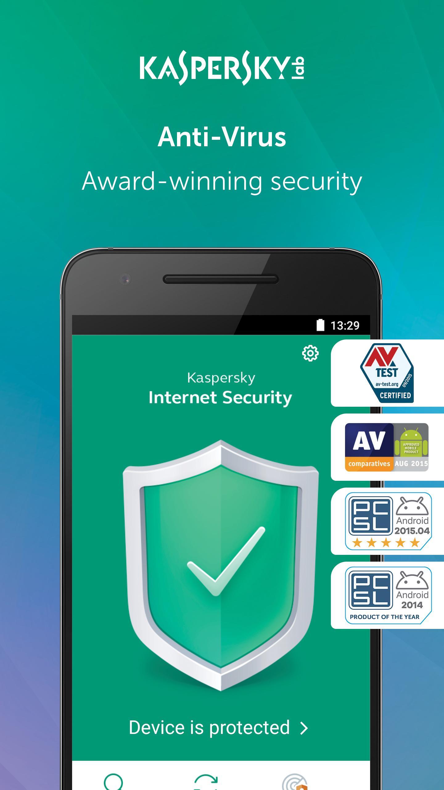 Pengunci Aplikasi Kaspersky Mobile