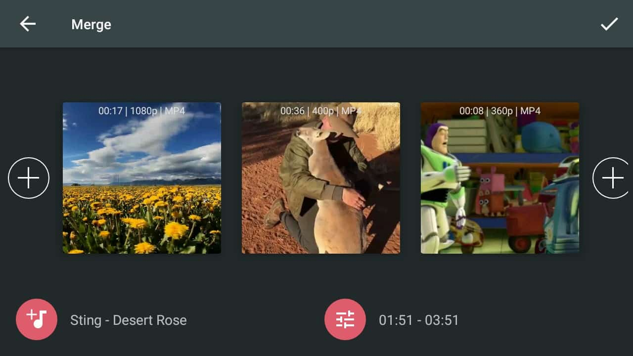 Pilih format video,