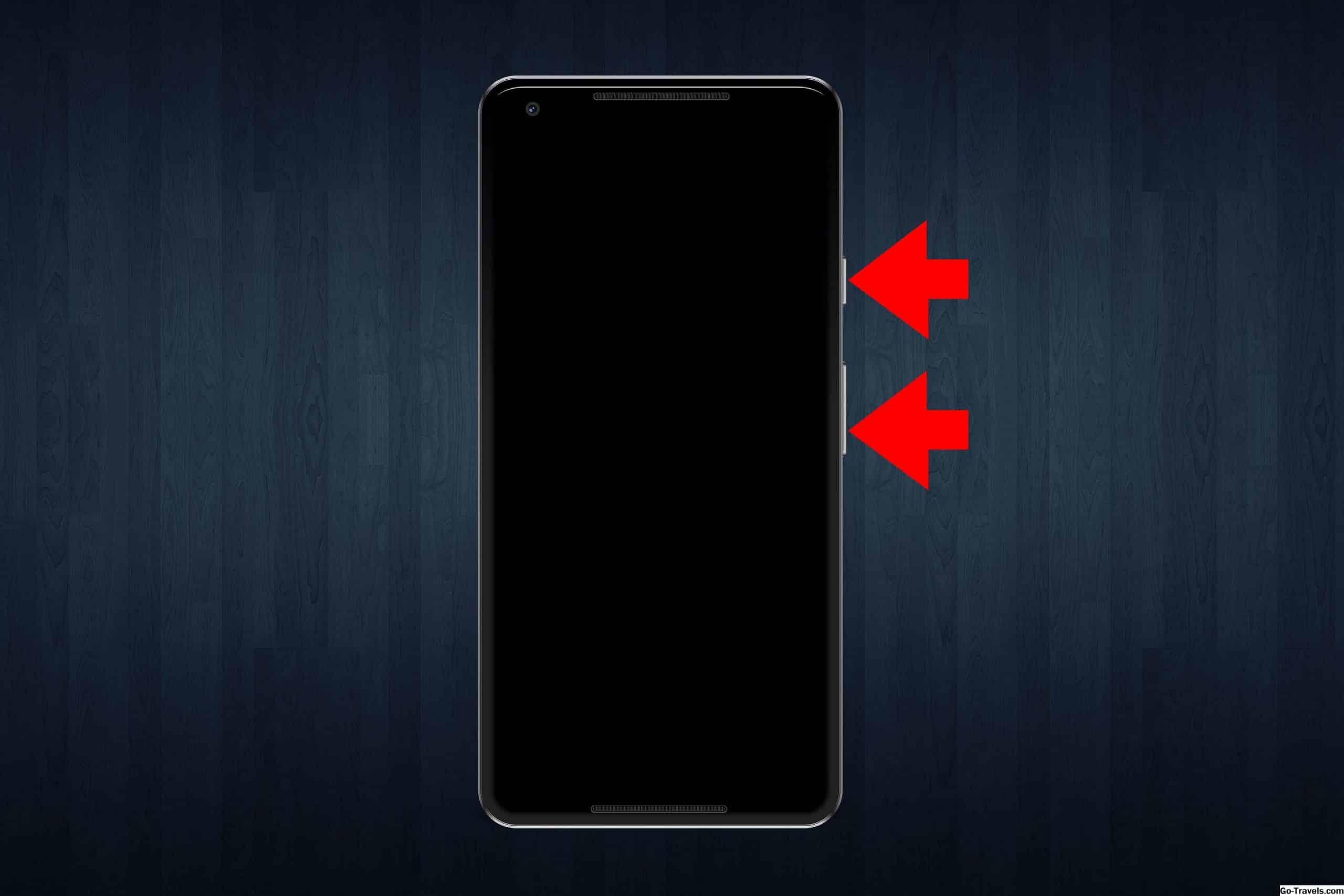 Screenshot Menggunakan Touch ID dan Tombol Atas