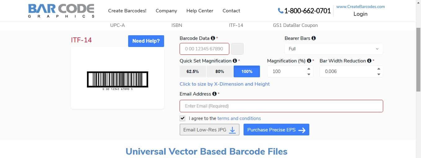 Setelah berhasil memilih jenis barcode yang ingin digunakan, maka selanjutnya Anda diminta untuk memasukkan angka barcode di kolom Barcode Data