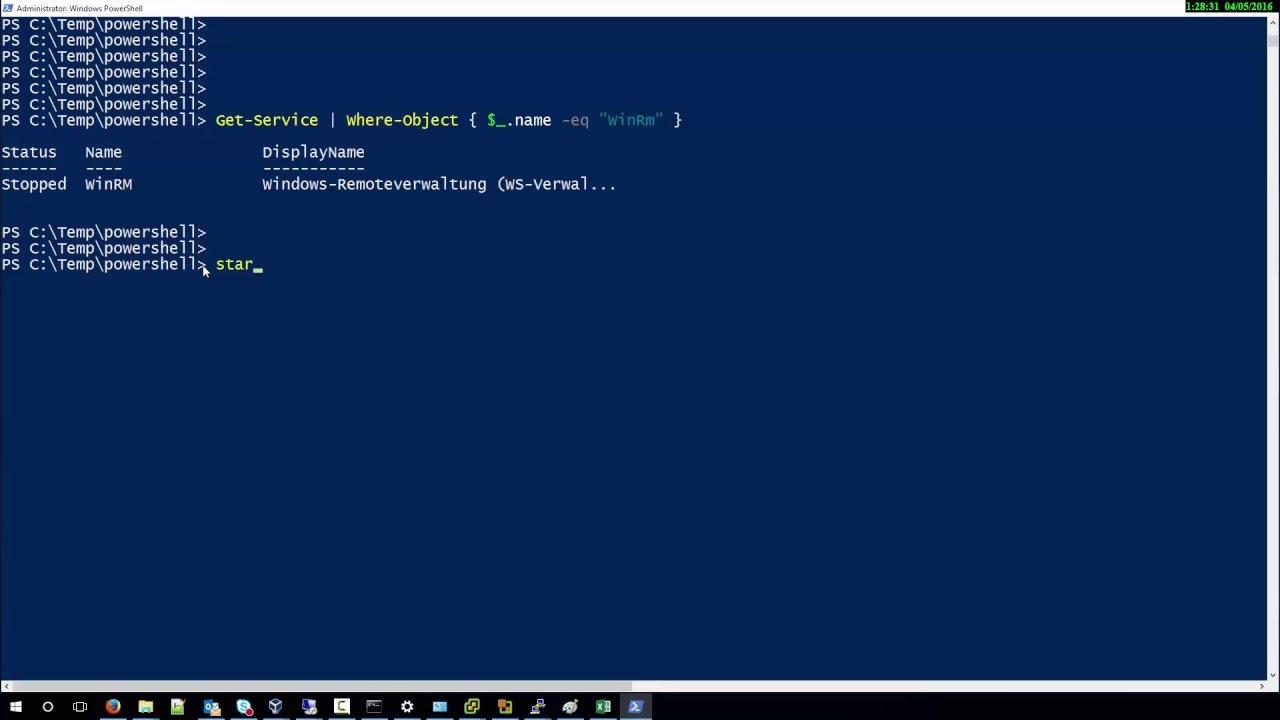 Setelah jendelan PowerShell terbuka, maka Anda dapat memasukkan perintah command Stop-sevice-wuauserv