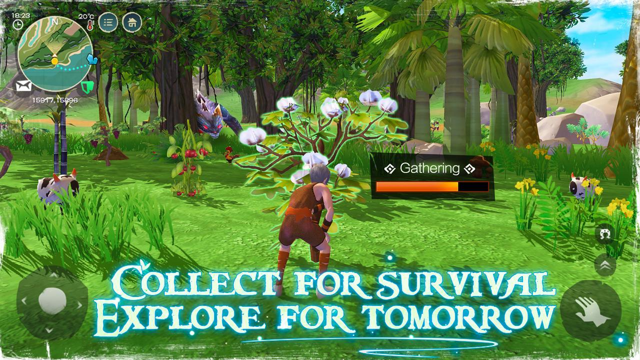 """game survival Android """"Utopia – Origin Play in Your Way"""""""